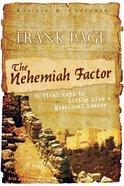 The Nehemiah Factor Paperback