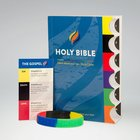NASB Time to Revive Gospel Tabbed New Testament Bible (Kit Includes Nt Bible, Wristband, Verse Card) Paperback