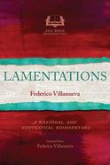 Lamentations (Asia Bible Commentary Series) Paperback
