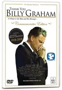 Thank You, Billy Graham: A Tribute to the Man and His Message (2 Dvds) DVD