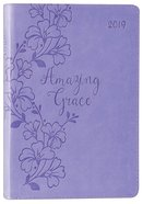 2019 Executive 12-Month Diary/Planner: Amazing Grace, Purple