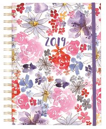 2019 12-Month/Weekly Diary/Planner: Floral, Uniquely Created Collection