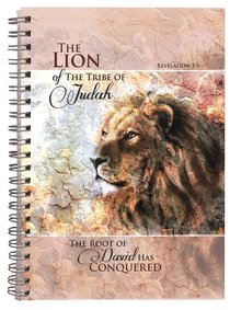 Spiral Hardcover Journal: The Lion of the Tribe of Judah