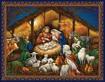 Christmas Boxed Cards: Nativity, Scripture