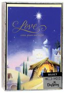 Christmas Boxed Cards: Love Came Down (John 3:16 Kjv)
