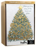 Christmas Boxed Cards: Five Panel Card Tree to Cross (John 14:6 Nasb)
