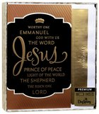 Christmas Premium Boxed Cards: Names of Jesus (Isaiah 9:6 Kjv)