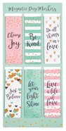 Bookmark Magnetic: Sparkle Range (Set Of 6) Stationery