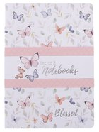 Notebook Set of 3: Blessed, Butterflies