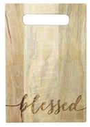 Mango Wood Cutting Board: Blessed Homeware