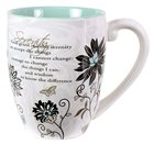 Mark My Words Ceramic Mug: Serenity Prayer Homeware