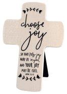 Cross Ceramic Hand Drawn Doodles: Choose Joy (John 15:11)
