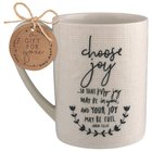Ceramic Mug Hand Drawn Doodles: Choose Joy (John 15:11) Homeware