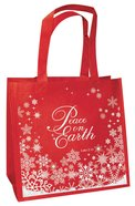 Christmas Eco Tote Bag Glitter: Peace on Earth Soft Goods