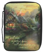 Bible Cover Thomas Kinkade Large a Quiet Evening Bible Cover