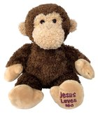 Toby Monkey: Jesus Loves Me 22Cm Soft Goods