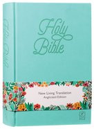 NLT Holy Bible Teal Soft-Tone Anglicized Edition Imitation Leather