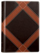 NKJV Unapologetic Study Bible Brown (Red Letter Edition) Imitation Leather
