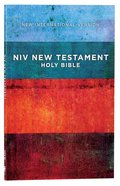 NIV Outreach New Testament Red Blue Stripes (Black Letter Edition) Paperback
