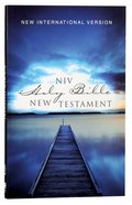 NIV Outreach New Testament Blue Pier (Black Letter Edition) Paperback