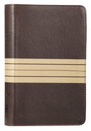 NIV Thinline Bible Compact Brown/Tan (Red Letter Edition) Premium Imitation Leather