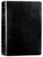 NIV Biblical Theology Study Bible Black (Black Letter Edition) Bonded Leather