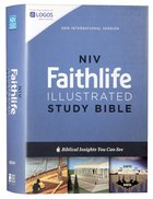 NIV Faithlife Illustrated Study Bible Hardback