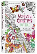 NIV Wonders of Creation Holy Bible: Illustrations to Color and Inspire (Black Letter Edition)