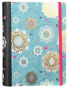 NIV Holy Bible For Girls Journal Edition Turquoise Elastic Closure