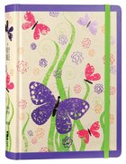 NIV Holy Bible For Girls Journal Edition Purple Elastic Closure (Black Letter Edition) Hardback