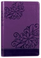 NIV Bible For Kids Purple (Red Letter Edition) Premium Imitation Leather