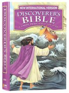NIV Discoverer's Bible: A Large Print Bible For Kids (Black Letter Edition) Hardback
