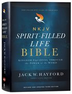 NKJV Spirit-Filled Life Bible (Red Letter Edition) (Third Edition) Hardback
