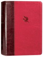 NKJV Spirit-Filled Life Bible Burgundy (Red Letter Edition) (Third Edition) Premium Imitation Leather