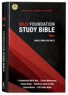 NKJV Foundation Study Bible (Red Letter Edition) Hardback