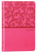 NKJV Value Thinline Bible Pink (Red Letter Edition) Premium Imitation Leather