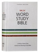 NKJV Word Study Bible (Red Letter Edition) Hardback