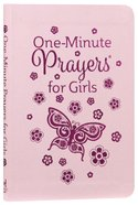 One-Minute Prayers For Girls Book Other