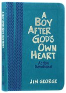 A Boy After God's Own Heart: Action Devotional Deluxe Edition Imitation Leather