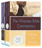 Wiersbe Bible Commentary 2 Volume Set (With Cd-rom) Hardback