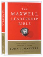 NKJV Maxwell Leadership Bible (Third Edition) Hardback