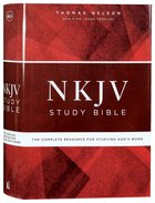 NKJV Study Bible (Black Letter Edition) Hardback