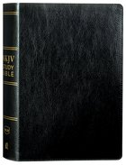 NKJV Study Bible Black (Black Letter Edition) Bonded Leather