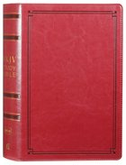 NKJV Study Bible Red (Black Letter Edition) Imitation Leather