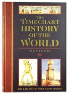 The Timechart History of the World (6th Edition) Chart/card