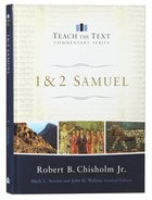 1 and 2 Samuel (Teach The Text Commentary Series) Hardback