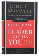 Developing the Leader Within You 2.0 (And 25th Anniversary Edition) Paperback