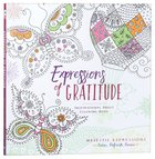Expressions of Gratitude (Majestic Expressions) (Adult Coloring Books Series)