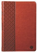 TPT New Testament Large Print Brown (With Psalms Proverbs And The Song Of Songs)