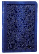 TPT New Testament Large Print Navy (With Psalms Proverbs And The Song Of Songs)